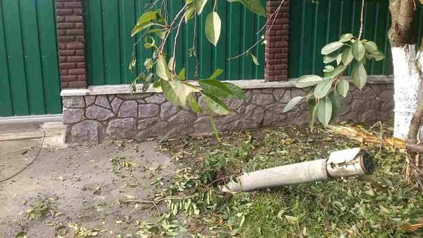 Снаряды в Калиновке