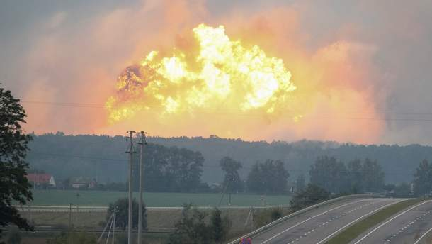 СМИ сообщили еще одну версию взрывов в Калиновке