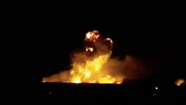 Утром в Калиновке до сих пор взрываются одиночные боеприпасы