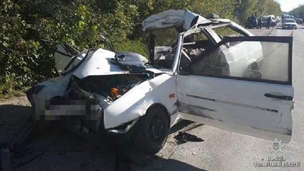 Аварія у Запоріжжі