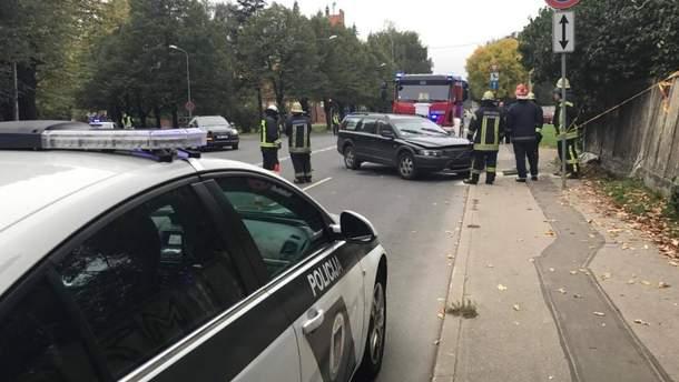 Авария в Риге