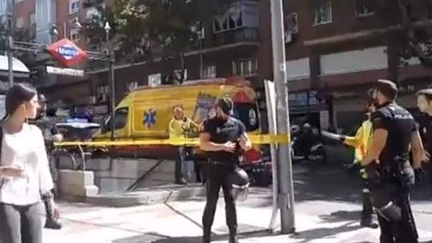 В мадридском метро произошла стрельба