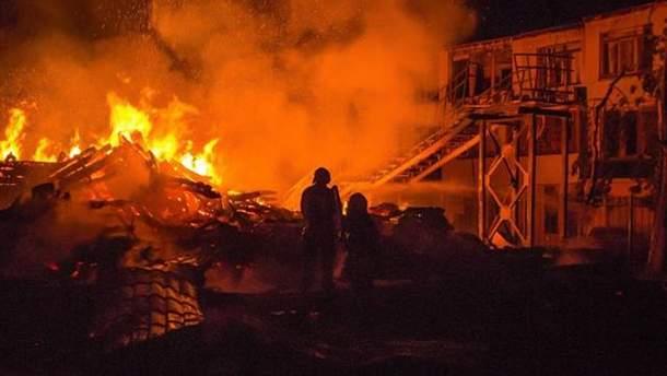 Пожежа в дитячому таборі Одеси: причиною міг стати кип'ятильник