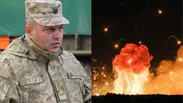 Причину пожежі на складах у Калинівці Шевцов пов'язав із браком фінансування
