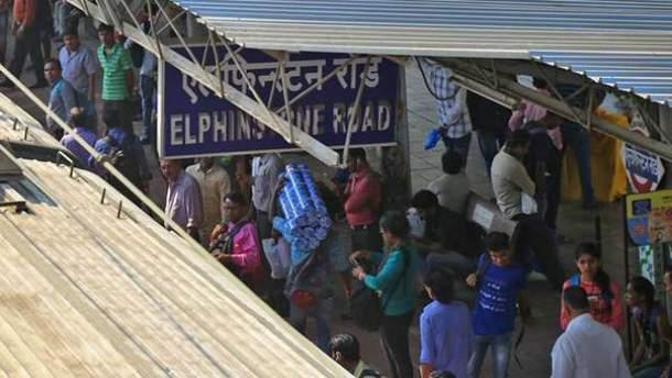 По меньшей мере 22 человека погибли в результате давки в Мумбае