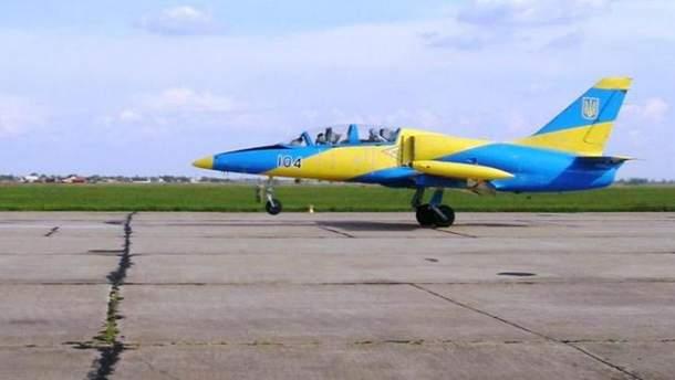 Военный самолет упал возле Хмельницкого