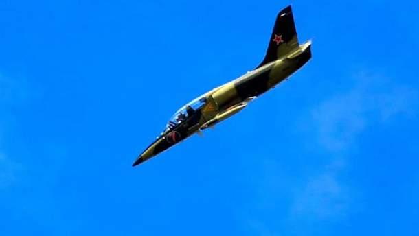 Военный самолет Л-39 разбился возле Хмельницкого