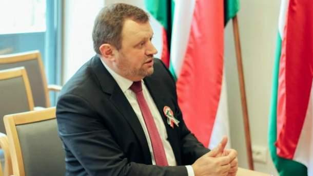 Посол Угорщини в Україні Ерно Кешкень