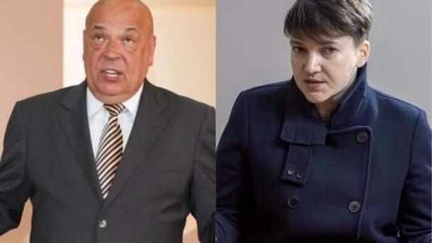 Москаль угрожает Савченко судебным иском за клевету