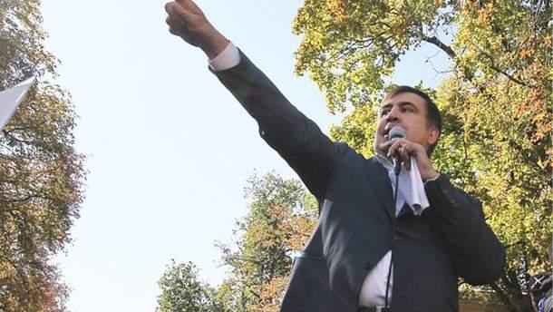 Саакашвілі подав апеляцію на рішення суду про незаконний перетин кордону