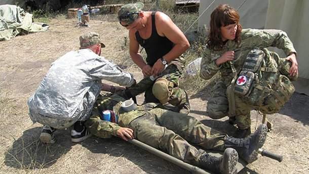 Украинский военный получил ранения вблизи Талаковки, что на Мариупольском направлении