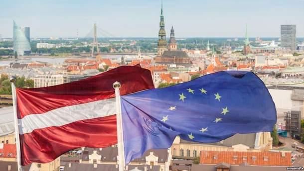 Латвия поддержала Украину