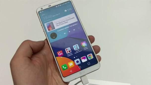 Новий смартфон від LG