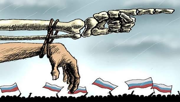 Росія поступово вимирає