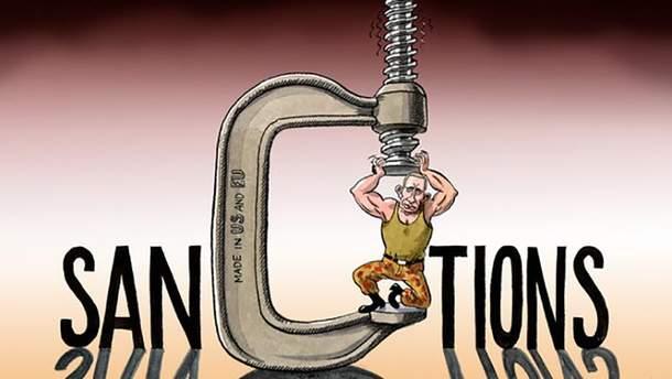 На Путина в очередной раз давят санкции