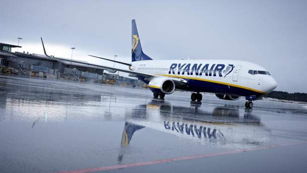 Ryanair відшкодує вартість квитків і та надасть бонуси