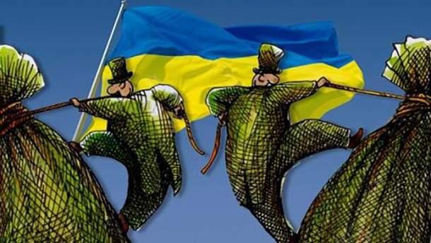 Картинки по запросу олігархи в україні карикатура