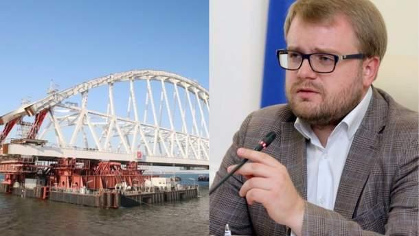 Полонський обурився через позов України проти Росії щодо Керченського мосту