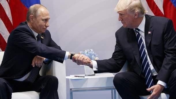 Для медиа встреча Трампа и Путина – это большая бомба