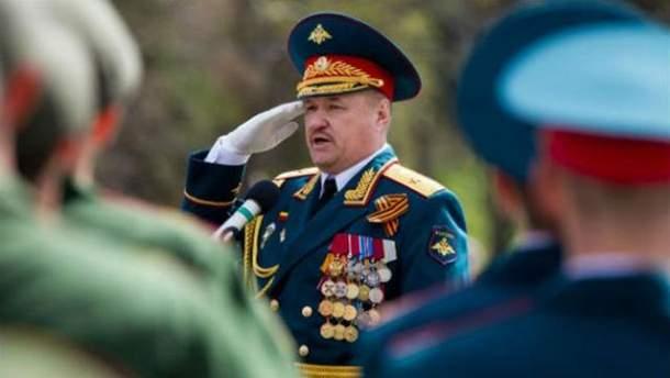 """З'явилось фото з могили російського генерала, який командував бойовиками """"ЛДНР"""""""