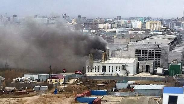 Взрыв в Якутске