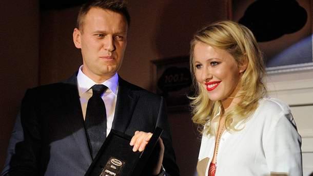 Собчак запропонувала Навальному об'єднатися