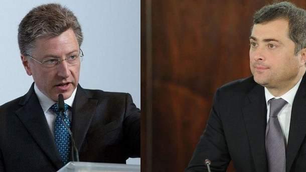 Уже в начале октября Волкер и Сурков встретятся во второй раз