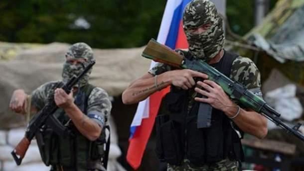 Русские захватчики на Донбассе
