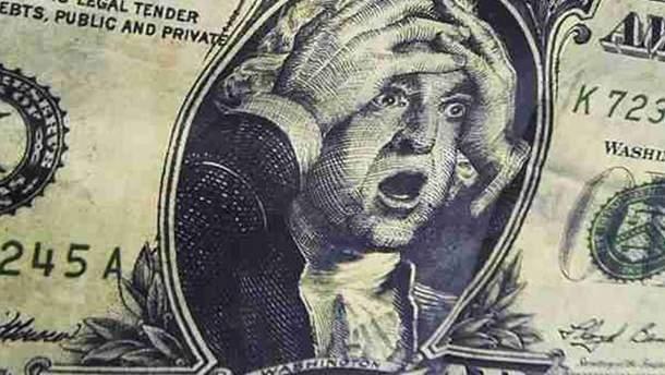 Доллар вырос в сентябре на почти 4%