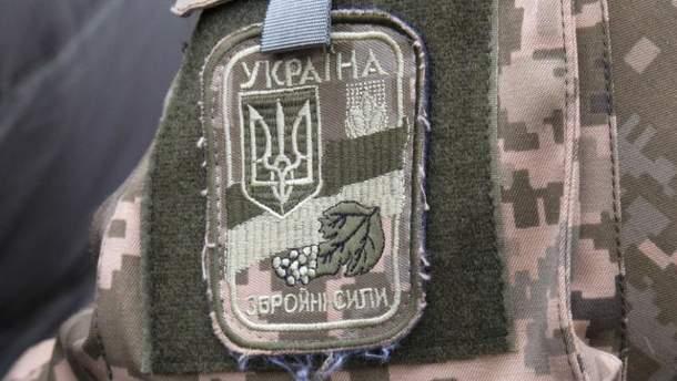Боевик переоделся в бойца ВСУ