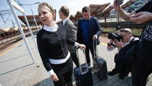 Тимошенко услід за Саакашвілі отримала протокол про незаконний перетин держкордону