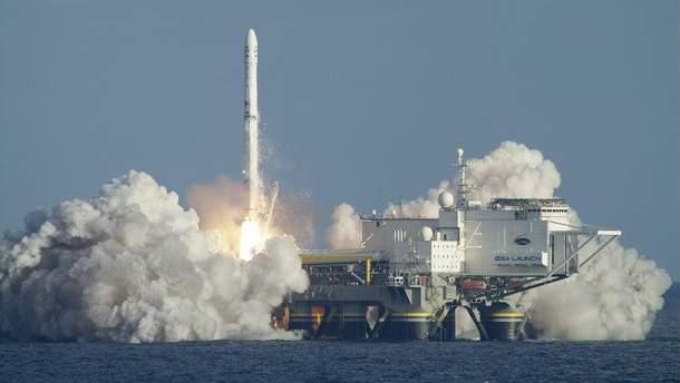"""Запуск ракети """"Зеніт"""""""