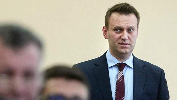 Олексія Навального арештували на 20 діб