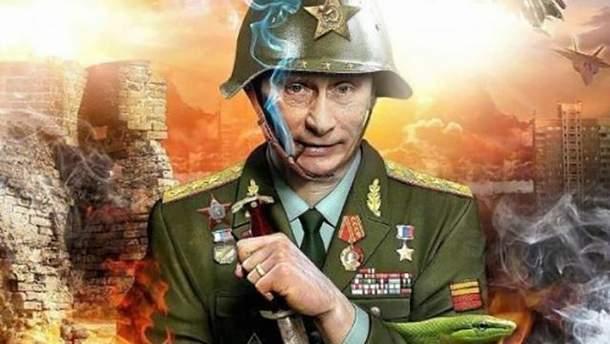 Путін зігнав на Донбас велику кількість російських військових