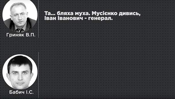 Опубликована прослушка чиновников полиции, причастных к штурму Майдана