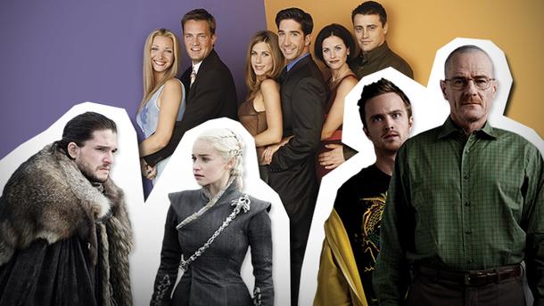 Найкращі серіали за останні 20 років