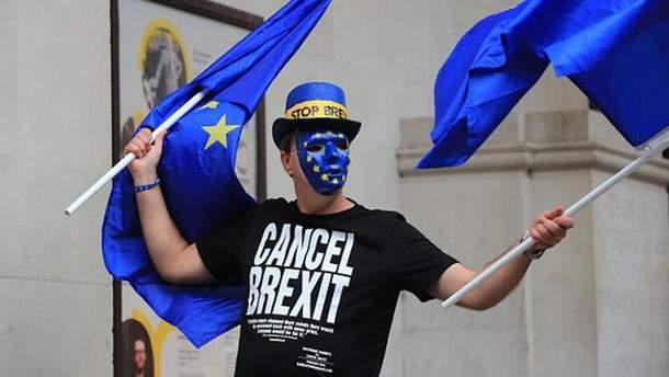 Протести проти Brexit у Великобританії