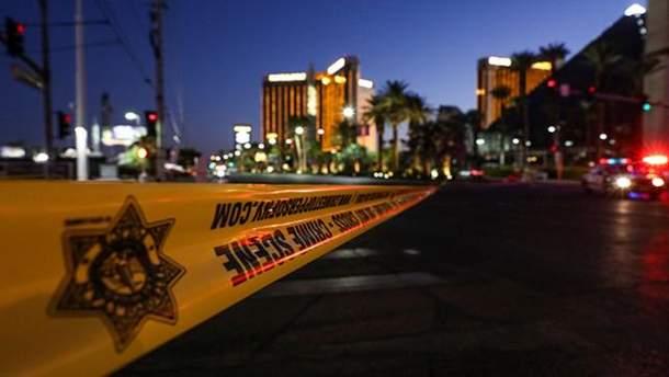 Місце стрілянини у Лас-Вегасі