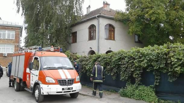 Пожар в детском саду Львова