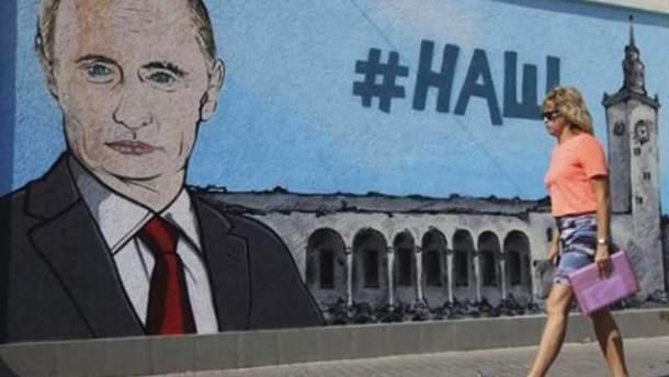 """Російська пропаганда """"забуде"""" про Крим після виборів президента в Росії"""