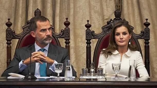 Король Іспанії не визнає референдум у Каталонії