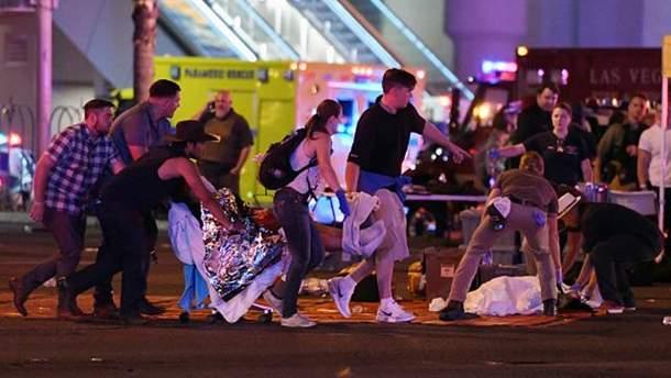 После стрельбы в Лас-Вегасе 45 человек находятся в критическом состоянии