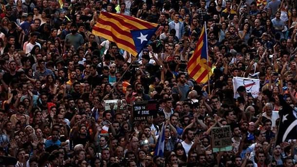 Каталонія планує від'єднатися від Іспанії найближчими днями