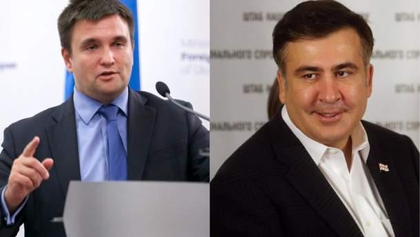 Клімкін оцінив вплив ситуації з Саакашвілі на зовнішню політику України