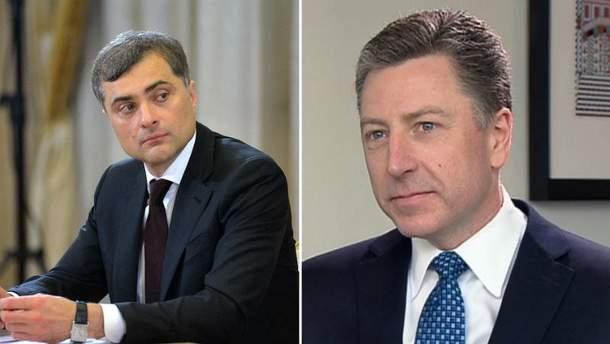 Зустріч Суркова з Волкером відбудеться 7 жовтня у Сербії