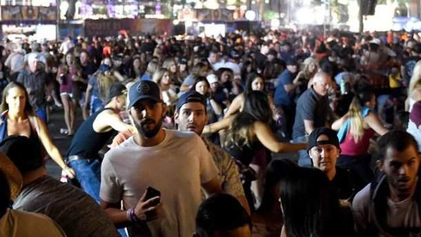 Стрельба в Лас-Вегасе: видео с камер полиции