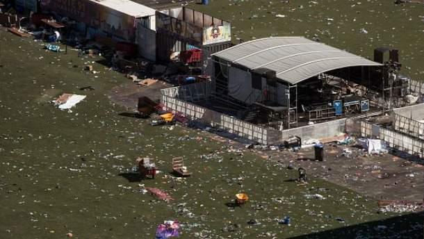 Расстрел людей в Лас-Вегасе: нападающий заранее спланировал преступление