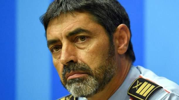 Начальник каталонської поліції Хосеп Луїс Траперо