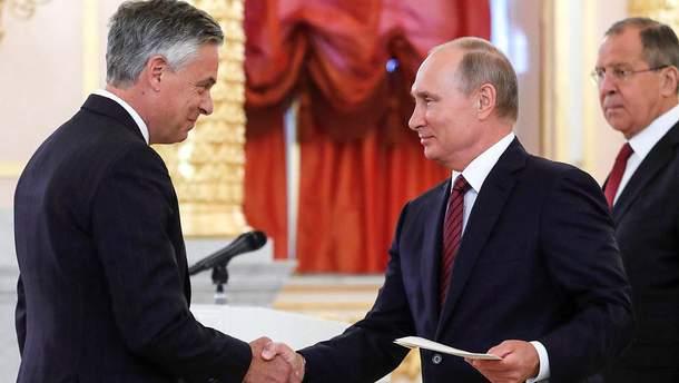 Путін зустрівся із Хантсманом