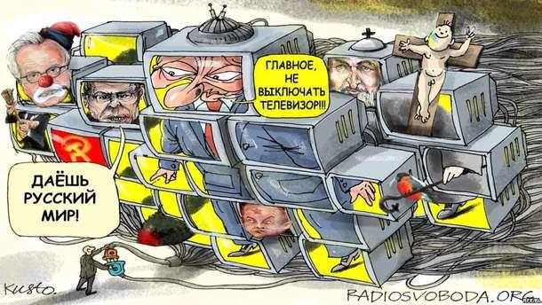 Машина пропаганды Кремля